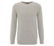 Pullover, strukturiert, Pilling-Optik, Grau