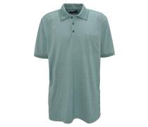Poloshirt, Brusttasche, Grün