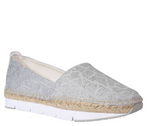 "Business-Slipper ""Genna"", Silber, Silber"