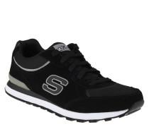 Sneakers, Veloursleder, Air-Cooled Memory Foam, Schwarz