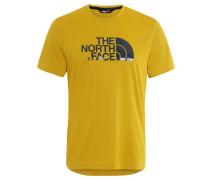 """T-Shirt """"Tanken Tee"""", Logo-Print, für Herren, Gelb"""