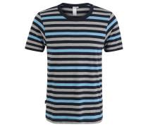 """T-Shirt """"Volker"""", Streifenmuster, für Herren, Blau"""