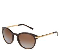 """Sonnenbrille """"MK 2023 Adrianna III"""", Havanna-Design, goldfarbene Bügel"""