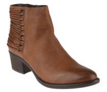 """Boots """"Nivanaa"""", Leder, Riemchenverzierung"""