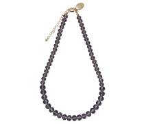Collier Kristall lila 430050023-7