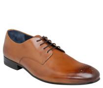 Business-Schuhe, Schnürer, Leder, Braun