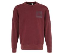 Sweatshirt, Fleece-Innenseite, nachhaltig produziert, für Herren, Rot