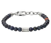 Armband, JF02756040, Blau|Rot|Silber