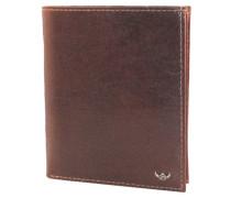 """Brieftasche """"Colorado"""", uni, Leder, RFID-Schutz, Braun"""