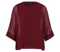 Tunika, Oversize, transparent, Unterhemd, Rot