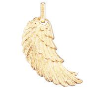 Anhänger Engelsflügel fein Silber vergoldet