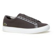 Low-Rise Herren-Sneakers L.12.12 aus Piqué-Canvas