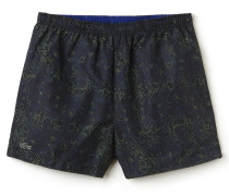 Herren-Shorts aus bedrucktem Stretch LACOSTE SPORT TENNIS