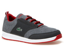 Kinder-Sneaker aus meliertem Canvas L.IGHT