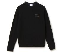 Herren-Sweatshirt mit Rundhalsausschnitt und Robert-George-Krokodil