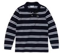 Kinder-Polo aus Baumwoll-Piqué im maritimen Look