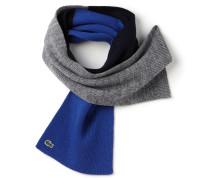 Kinder-Schal aus Wollmischung im Colorblock-Design