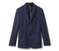Herren-Anzugjacke aus Baumwoll-Piqué mit 2 Knöpfen