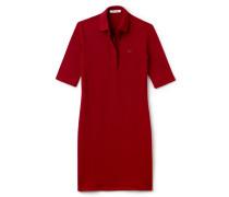 Damen-Polo-Kleid aus dehnbarem Baumwoll-Piqué