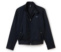 Harrington-Jacke mit Reißverschluss aus Baumwolltwill