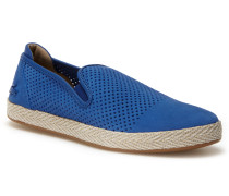 Herren-Slipper TOMBRE aus perforiertem Veloursleder