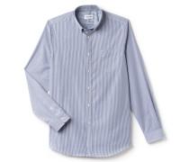 Regular Fit Herren-Hemd aus gestreifter Baumwolle
