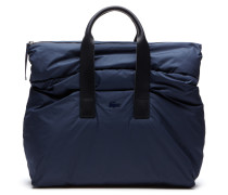Herren-Kurzreisetasche aus mattem Leder MODENSCHAU-KOLLEKTION