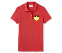 Damen-Poloshirt aus Petit Piqué LACOSTE YAZBUKEY Kollektion