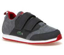 Melierte Kinder-Sneaker mit Klettverschluss L.IGHT