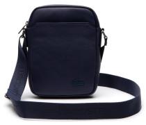 Vielseitige Herren-Tasche aus monochromem Leder mit Reißverschluss RAFAEL