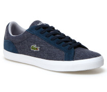 Herren-Sneakers LEROND aus Chambray-Canvas mit Veloursleder