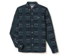 SlimFit Herren-Flanellhemd mit verschiedenen Karomustern LACOSTELIVE