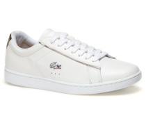 Damen-Leder-Sneaker mit Ferse in Metallic-Optik CARNABY EVO