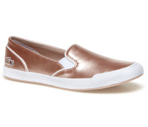 Damen-Slipper in Metallic-Optik LANCELLE
