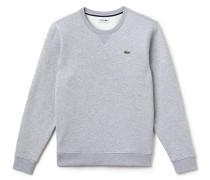 Einfarbiges Rundhals-Sweatshirt aus Baumwollfleece LACOSTE SPORT Tennis