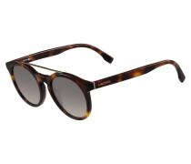Schildpatt-Sonnenbrille im Retro-Look
