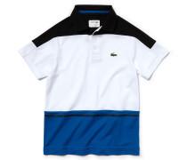 Kinder-Tennis-Polo aus Colorblock-Piqué LACOSTESPORT