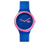 Rosa-blaue Uhr Goa New