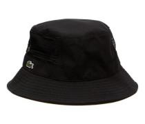 Herren-Hut aus Denim mit Kontraststreifen LACOSTE L!VE