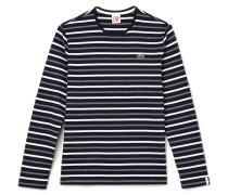 Herren-Shirt mit Streifen und Colorblocks LACOSTE L!VE