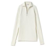Damen-Wollpullover mit Reißverschluss-Rollkragen Runway collection