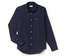 RegularFit Herren-Hemd aus Baumwoll-Piqué