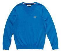 Kinder-V-Pullover aus Jersey