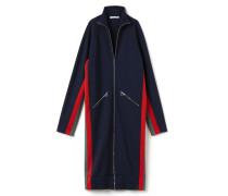 Damen-Kleid mit Stehkragen und Kontraststreifen Runway collection