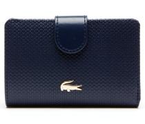 Damen-Brieftasche für sechs Karten aus zweifarbigem Leder CHANTACO