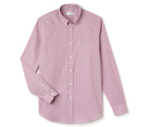 Klassisch geschnittenes Hemd mit feinem Karomuster