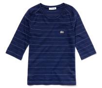 Kinder-T-Shirt aus gestreiftem Jersey