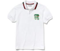 Jungen-Polo aus Baumwoll-Piqué mit Stadt-Emblem