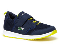 Kids' L.IGHT Breathable Canvas Velcro Strap Sneakers