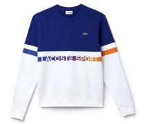 Herren-Sweatshirt aus Fleece mit Schriftzug LACOSTE SPORT